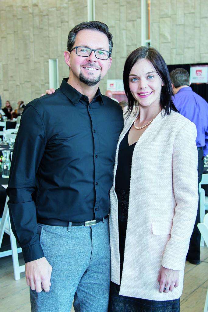 Jamie Perham and Vittoria Trinchi