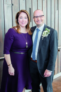 Jenn Steele and Mike Farwell