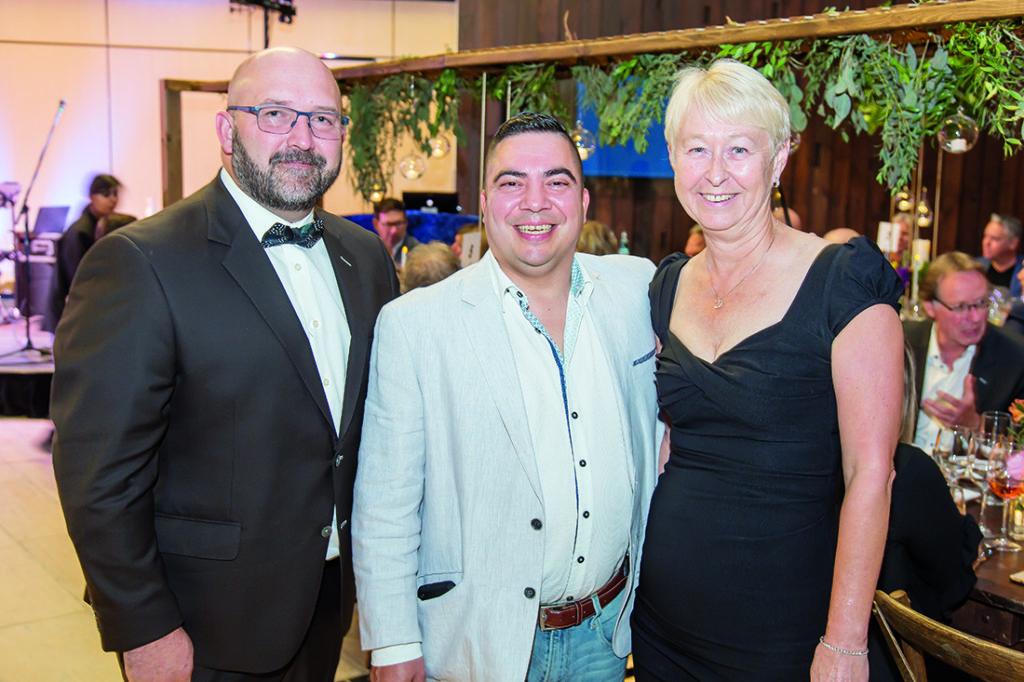 Mark Gdak, Javier Donan and Monica Jutzi