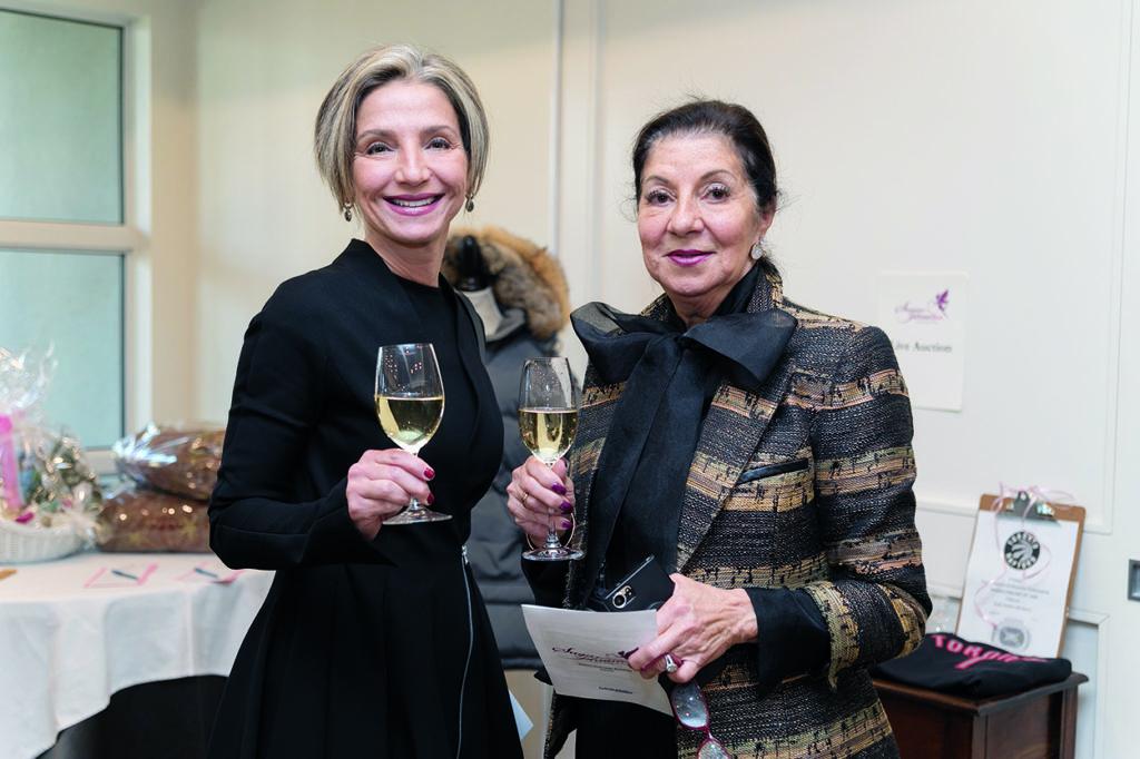 Maria Arvanitis and Huguette Schorn