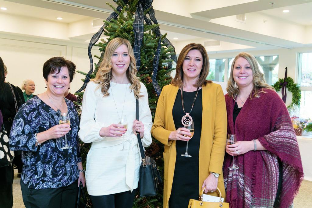 Jackie Weber, Stephanie Jamieson, Kathy Kirkham and Brittany Dean