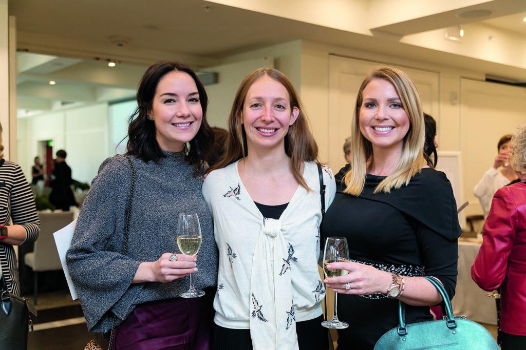Heidi Schorn, Mallory O'Brien and Natalie Leitzmann