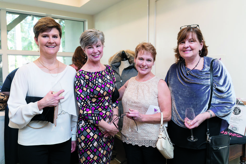 Valerie Hoag, Hilary Coates,  Helen Goddard and Kate MacDonald